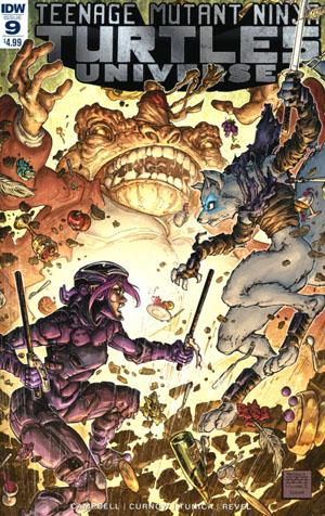Teenage Mutant Ninja Turtles Universe #9 Cover A Regular Freddie Williams II Cover
