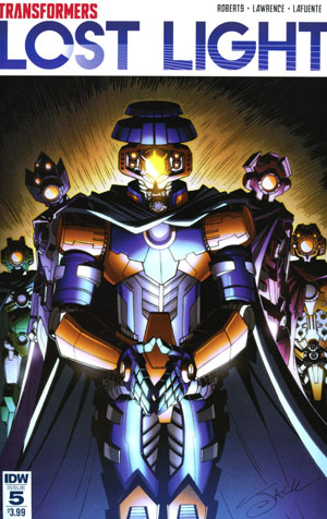 Transformers Lost Light #5 Cover A Regular Jack Lawrence Cover