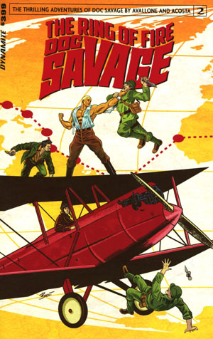 Doc Savage Ring Of Fire #2 Cover A Regular Brent Schoonover Cover