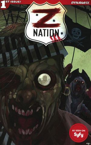 Z Nation #1 Cover A Regular Denis Medri Cover