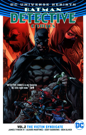 Batman Detective Comics (Rebirth) Vol 2 Victim Syndicate TP