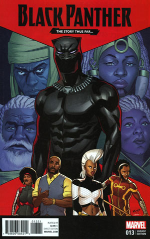 Black Panther Vol 6 #13 Cover C Variant Wilfredo Torres Story Thus Far Cover