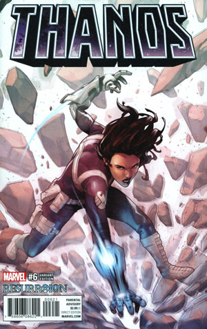 Thanos Vol 2 #6 Cover B Variant Emanuela Lupacchino Resurrxion Cover