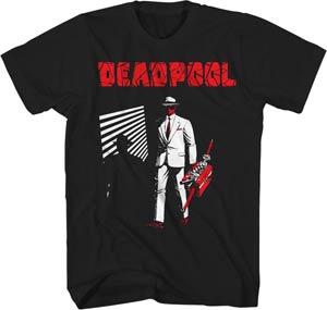 Deadpool Dead Noir Black T-Shirt Small