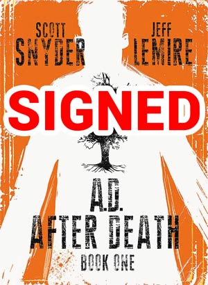 AD After Death Book 1 Cover B Signed By Scott Snyder (Limit 1 Per Customer)