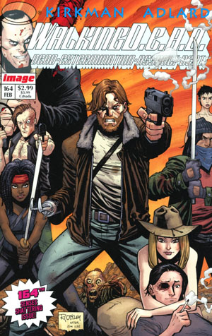 Walking Dead #164 Cover B Variant Image Tribute Cover