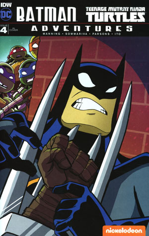 Batman Teenage Mutant Ninja Turtles Adventures #4 Cover C Incentive Tony Fleecs Variant Cover
