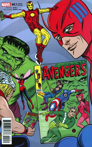 Avengers Vol 6 #4.1 Cover C Incentive Michael Allred Variant Cover