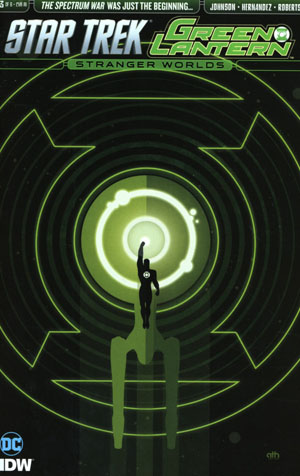 Star Trek Green Lantern Vol 2 Stranger Worlds #3 Cover C Incentive Aaron Harvey Variant Cover
