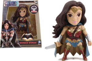 Metals Batman v Superman Dawn Of Justice 4-Inch Die-Cast Figure - Wonder Woman With Cape