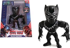 Metals Captain America Civil War 4-Inch Die-Cast Figure - Black Panther