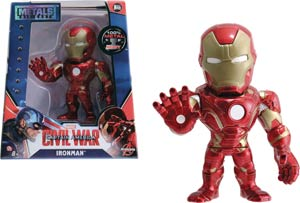 Metals Captain America Civil War 4-Inch Die-Cast Figure - Iron Man