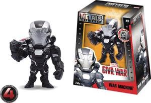 Metals Captain America Civil War 4-Inch Die-Cast Figure - War Machine