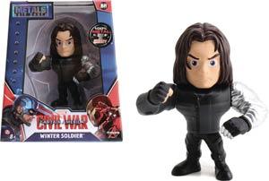Metals Captain America Civil War 4-Inch Die-Cast Figure - Winter Soldier