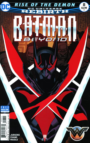 Batman Beyond Vol 6 #8 Cover A Regular Bernard Chang Cover