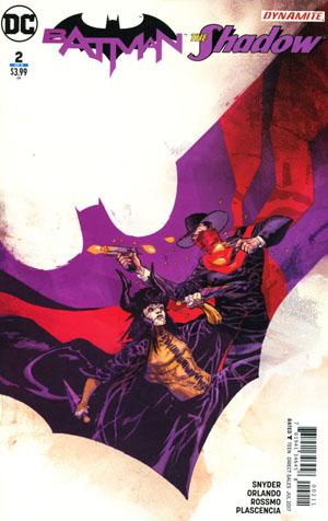 Batman The Shadow #2 Cover A Regular Riley Rossmo Cover