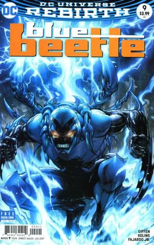 Blue Beetle (DC) Vol 4 #9 Cover B Variant Tyler Kirkham Cover