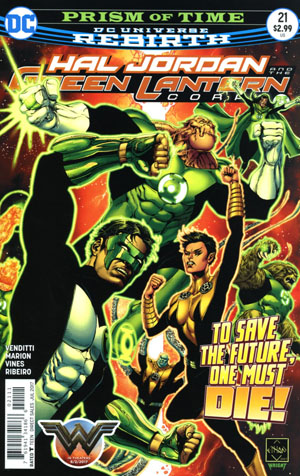 Hal Jordan And The Green Lantern Corps #21 Cover A Regular Ethan Van Sciver Cover