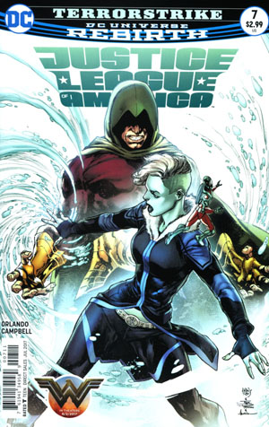 Justice League Of America Vol 5 #7 Cover A Regular Ivan Reis & Joe Prado Cover
