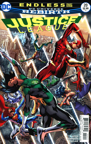 Justice League Vol 3 #20 Cover A Regular Bryan Hitch Cover