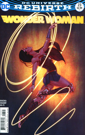 Wonder Woman Vol 5 #23 Cover B Variant Jenny Frison Cover