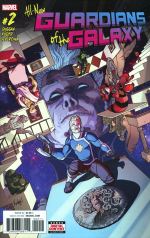 All-New Guardians Of The Galaxy #2 Cover A Regular Aaron Kuder Cover