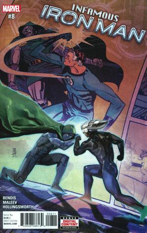 Infamous Iron Man #8