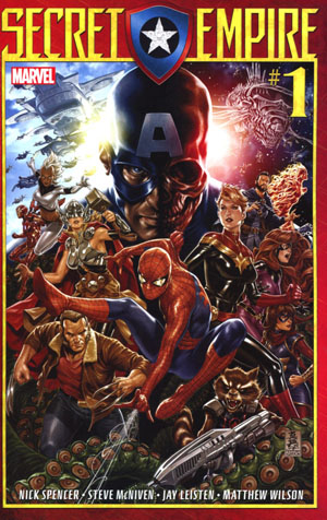 Secret Empire #1 Cover A Regular Mark Brooks Cover
