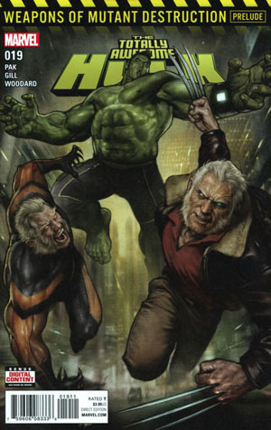 Totally Awesome Hulk #19 Cover A 1st Ptg (Weapons Of Mutant Destruction Prelude)
