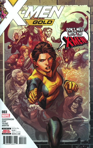 X-Men Gold #3 Cover A Regular Ardian Syaf Cover