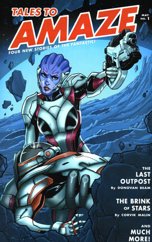 Mass Effect Discovery #1 Cover B Variant Katie Niemczyk Cover