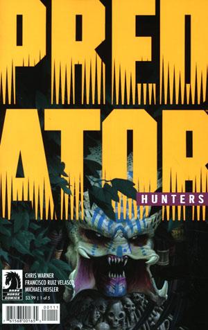 Predator Hunters #1 Cover A Regular Doug Wheatley Cover