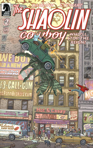 Shaolin Cowboy Wholl Stop The Reign #2 Cover A Regular Geof Darrow Cover