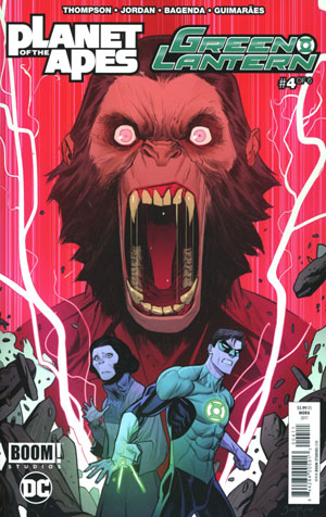 Planet Of The Apes Green Lantern #4 Cover A Regular Dan Mora Cover