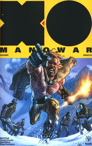 X-O Manowar Vol 4 #3 Cover A Regular Lewis Larosa Cover