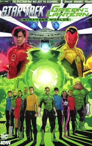 Star Trek Green Lantern Vol 2 Stranger Worlds #6 Cover A Regular Angel Hernandez Cover