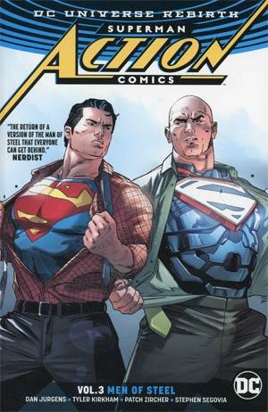 Superman Action Comics (Rebirth) Vol 3 Men Of Steel TP