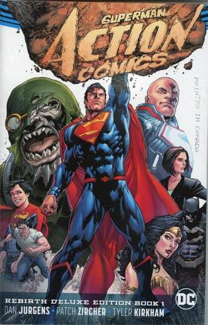 Superman Action Comics Rebirth Deluxe Edition Book 1 HC