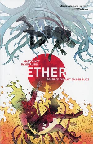 Ether Vol 1 Death Of The Last Golden Blaze TP