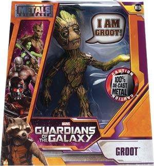Metals Guardians Of The Galaxy 6-Inch Die-Cast Figure - Groot