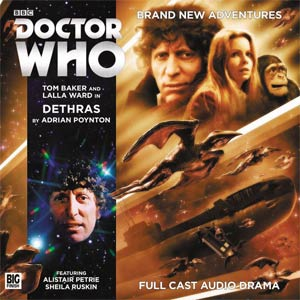 DOCTOR WHO 4TH DOCTOR ADV DETHRAS AUDIO CD (C: 0-1-0)