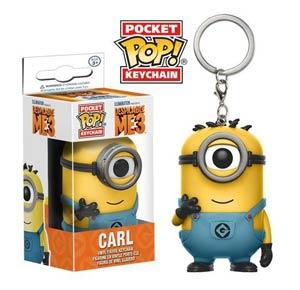 POP Despicable Me 3 Carl Vinyl Figure Pocket Keychain