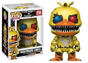 POP Games 216 Five Nights At Freddy Nightmare Chica Vinyl Figure