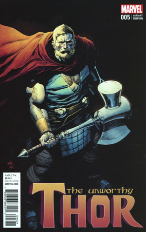 Unworthy Thor #5 Cover C Incentive Leinil Francis Yu Variant Cover