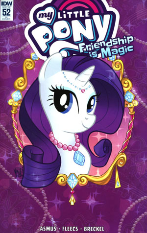 My Little Pony Friendship Is Magic #52 Cover C Incentive Valentina Pinto Variant Cover