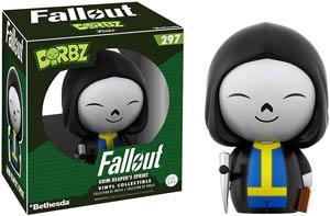 Dorbz 297 Fallout Vault Boy Grim Reaper Vinyl Figure
