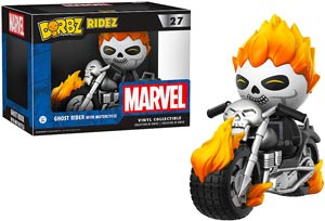 Dorbz Ridez 027 Ghost Rider Motorcycle Vinyl Figures