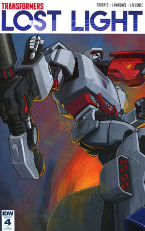 Transformers Lost Light #4 Cover D Incentive EJ Su Variant Cover