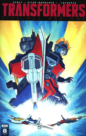 Transformers Till All Are One #8 Cover C Incentive Nelson Daniel Variant Cover