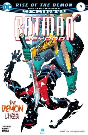 Batman Beyond Vol 6 #9 Cover A Regular Bernard Chang Cover